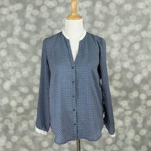 Zara Woman Print Blouse